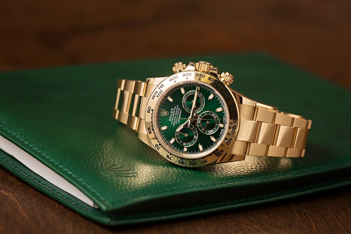 Why Is the Gold Rolex Daytona So Hard to Find 116508 Green Dial
